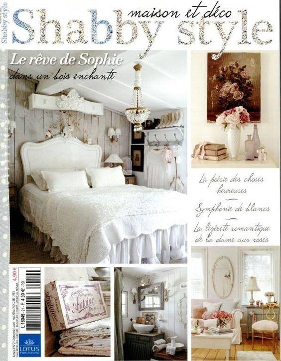 Magazine maison et d co shabby style avril mai 2016 le Magazine deco maison