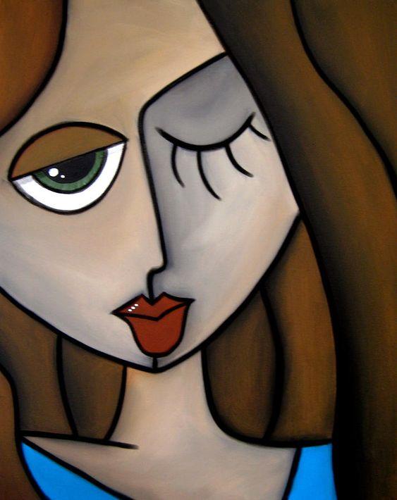 Pop Art Painting - Blind Faith By Fidostudio by Tom Fedro - Fidostudio