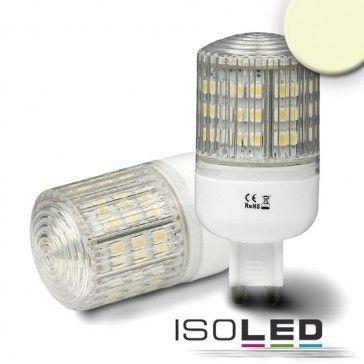 G9 Leuchtmittel SMD48, 3 Watt, prismatisch, warmweiss / LED24-LED Shop