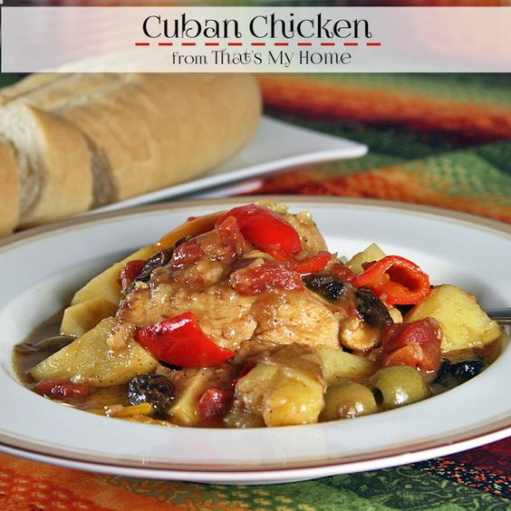 Cuban Chicken | Recipe | Onions, Cooking and Potatoes