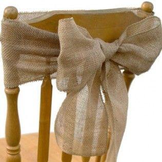 noeud chaise mariés église