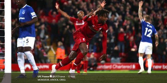 Liverpool Vs Everton - Divock Origi Jadi Pahlawan The Reds dengan Gol Tak Terduga di Menit Akhir Laga  #infobola #duniabola #beritabola #bolaindonesia