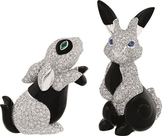 Bunnies!!!  Van Cleef and Arpels