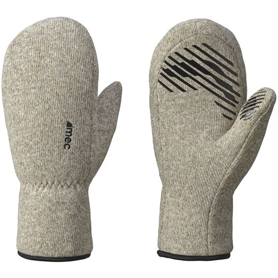 Old school looks meet new school functionality. Sweater-textured fleece gives the Cascade the appearance of a traditional boiled wool mitt. Hyperloft insulation, a soft microfleece lining, and grippy silicone prints let you use it on its own or as a heavy-weight liner under a shell.