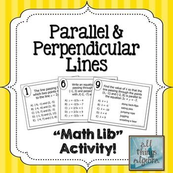 Equations Of Parallel And Perpendicular Lines Homework Online - image 9