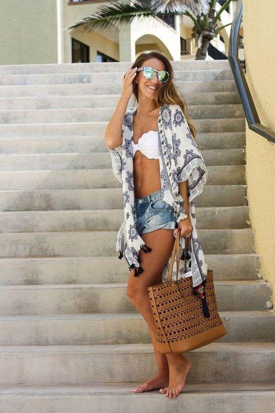 Como Vestir Para Ir A La Playa Mujer