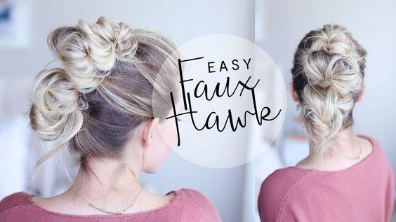 Easy Faux Hawk Tutorial | For Everyday