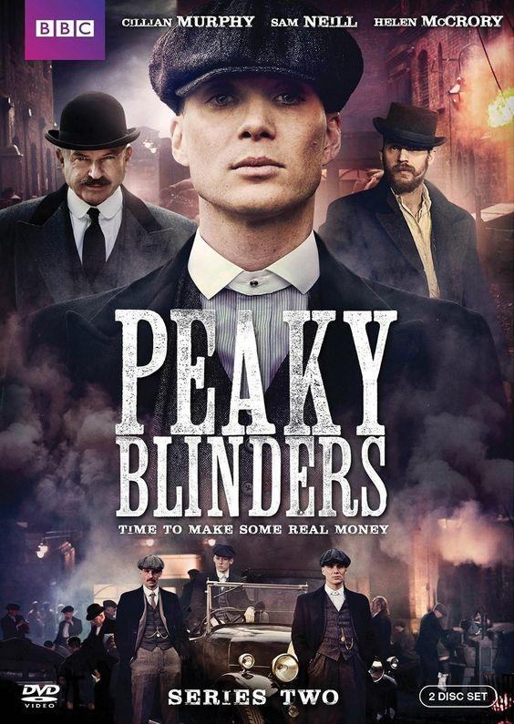 Peaky Blinders Season 2 DVD Cover