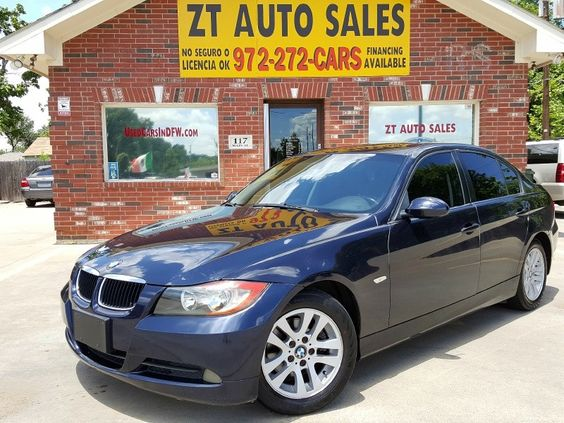 2006 BMW 3 Series 325i 4dr Sdn RWD 98,495 Miles Price : $7,995 4 Doors, Rear Wheel Drive, 6 Cylinders , Automatic Transmission Ice cold A/C. Looks & runs great. Non-smoker. No accidents. Non-smoker. Runs & drives great.