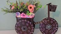 Siga em frente!: Artesanato-Triciclo de cd para decoração com mater...