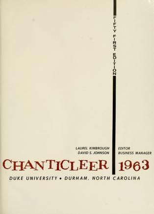 Books digitized by the Internet Archive for Duke University Libraries, including Duke yearbooks, early advertising texts, Utopian literature, transcultural travel literature, and other materials.