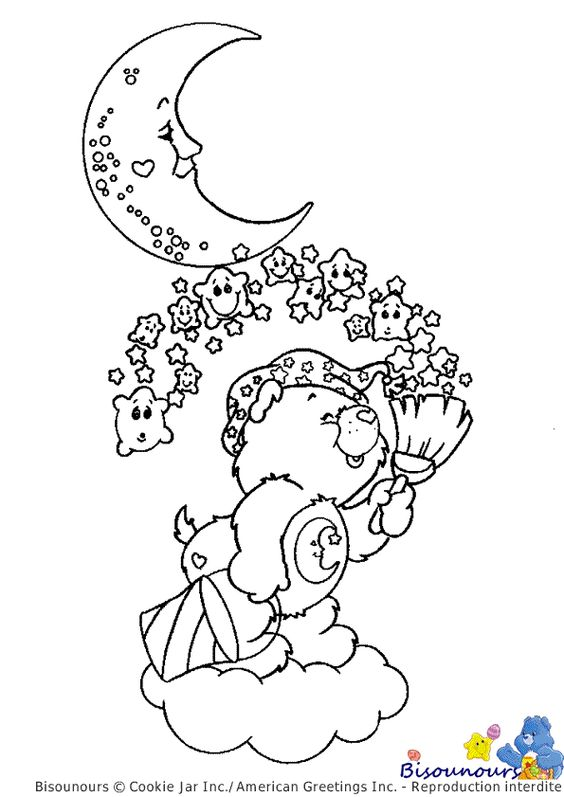 coloriage bisounours