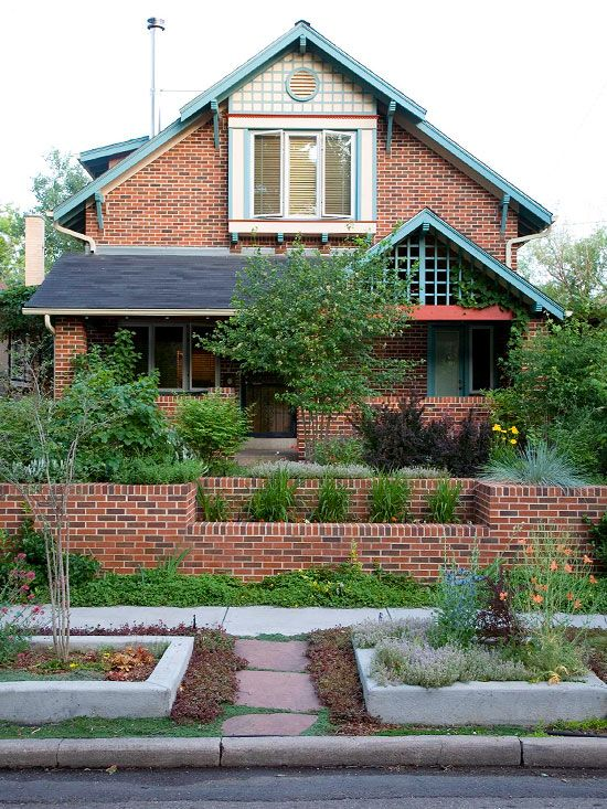 Exterior Paint Colors With Brick Paint Colors Landscaping Tips And Walkways