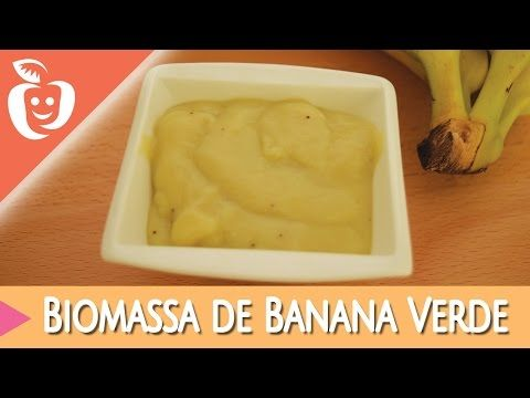 Receita de Biomassa de Banana Verde - Emagrecer Certo - YouTube