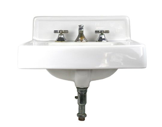 Kohler 1950s Wall Mount Sink Traditional Traditional Porcelain Wall Mount By Architectural Antiques Powder Room Sink Sink Wall Mounted Sink