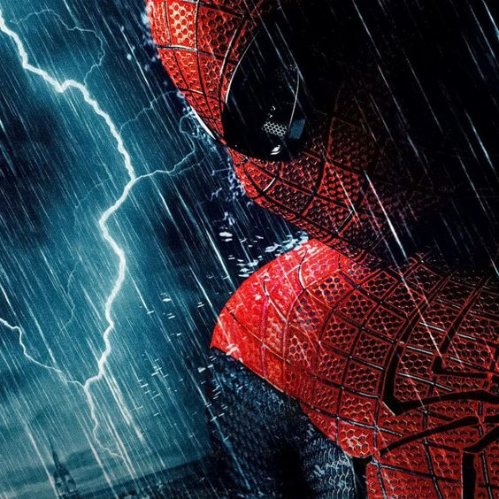 Spidey Rain