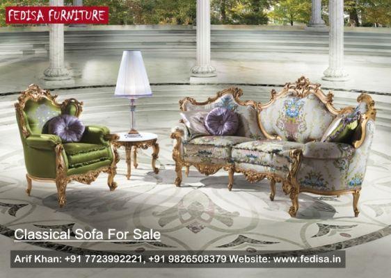 Victorian Style Sofa Classic Sofa Set Traditional Sofa Fedisa