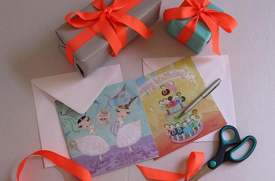 Ballet Papier | ballet stationary | ballet products