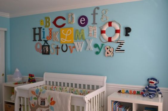 Another ABC wall idea