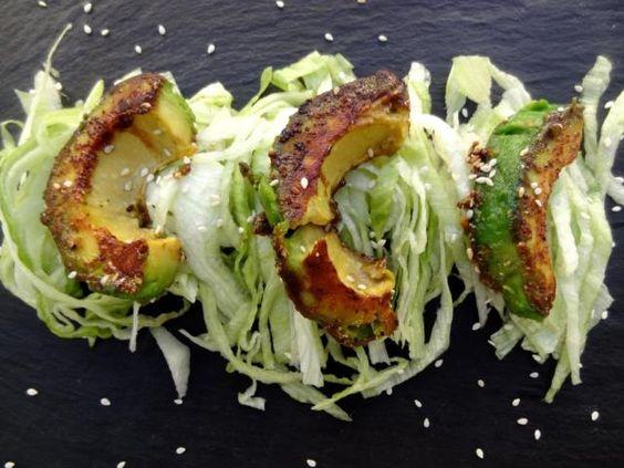 Avocat caramélisé au sirop d'érable, Recette de Avocat caramélisé au sirop d'érable par latendresseencuisine - Food Reporter