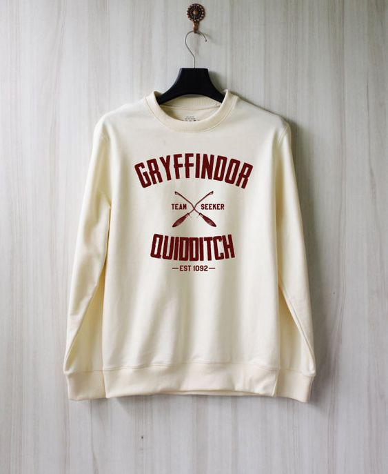 Gryffindor Quidditch Harry Potter Shirt Sweatshirt. I want it.