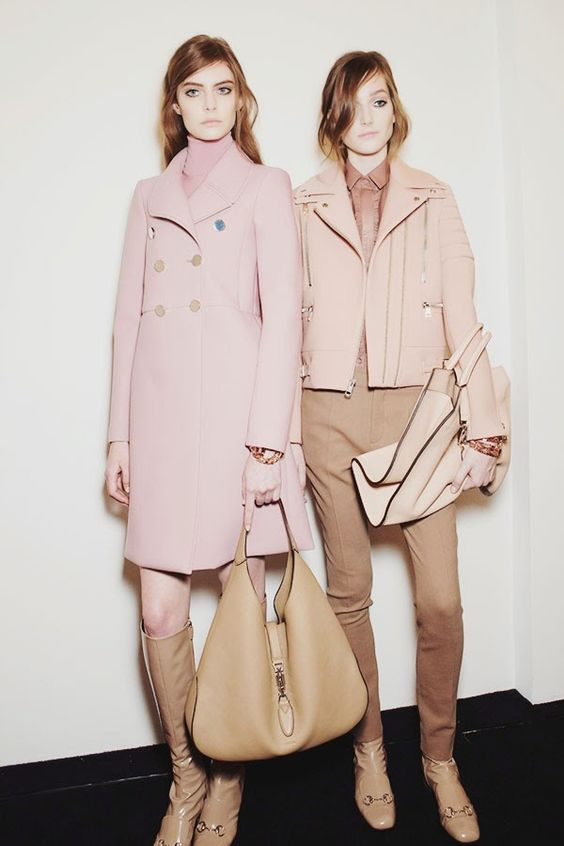 Cool Chic Style Fashion: Fashion Runway | backstage : gucci fall 2014 ready-to-wear, milan fashion week
