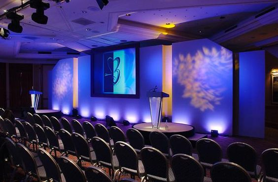 1339562535 59934235 2 00 stage design backdrop or for Conference room lighting ideas