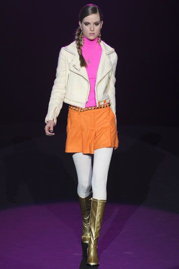 Betsy Johnson  Fall 2012  I want this jacket, the rest I can do without