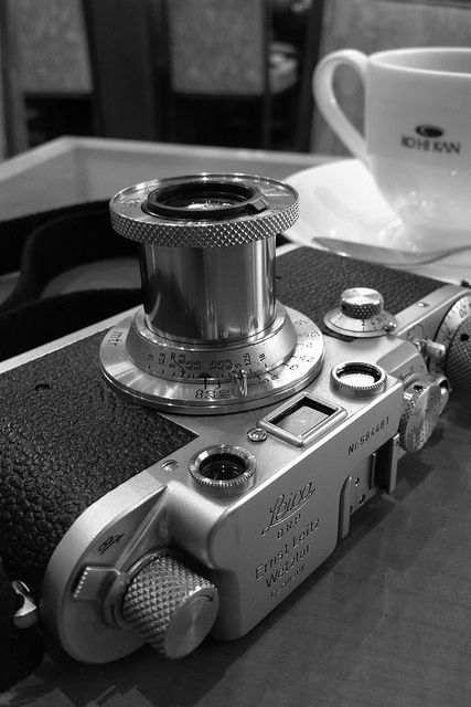 My Leica IIIf, via Flickr.