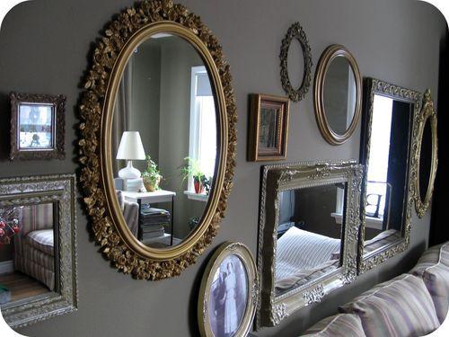 More Amazing Vintage Mirror Walls