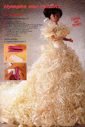 Mimin Dolls: revista francesa de vestidos para barbie