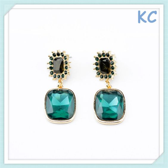 Golden Earring With Crystal   1.Delivery in time  2.Lead&Nickle free  3.High quality & Competitive price  4.new design