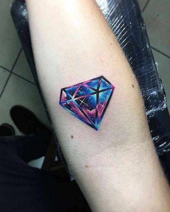 16 Tattoo de diamantes significado