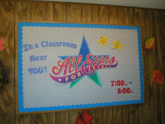 All Stars for Jesus   (Our Wednesday night program)