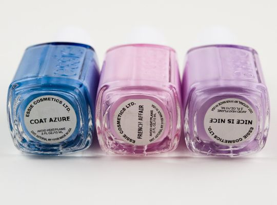 Essie A French Affair Collection Swatches, Photos, Review