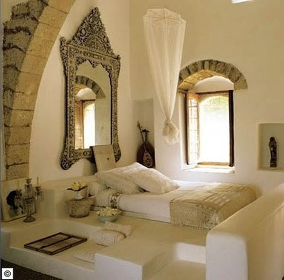 Beautiful oriental and design on pinterest for Zen bedroom ideas