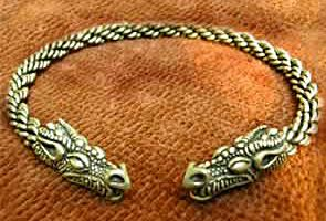 Celtic Dragon Torc