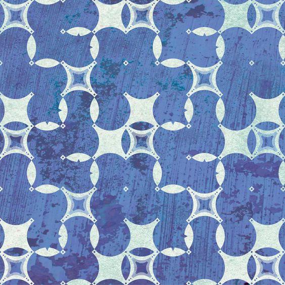Textured indigo pattern - Courtney Morgenstern | © Struthers Studios