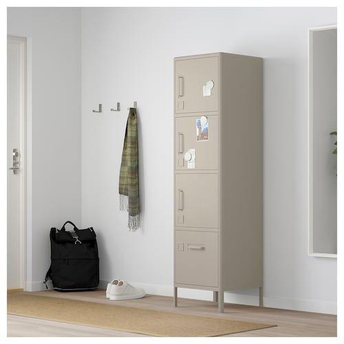 Idasen Hochschr M Schublade Und Turen Beige Ikea Deutschland