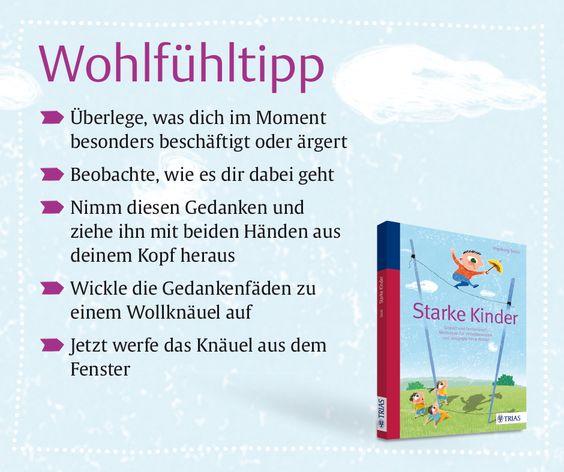 """Weitere Tipps und vieles mehr finden Sie im Ratgeber """"Starke Kinder"""", TRIAS Verlag ©TRIAS Verlag"""