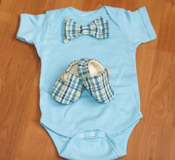 Little Dillan   Set    Shoes and  Bodysuit  by ohsopreciousdesigns, $32.00