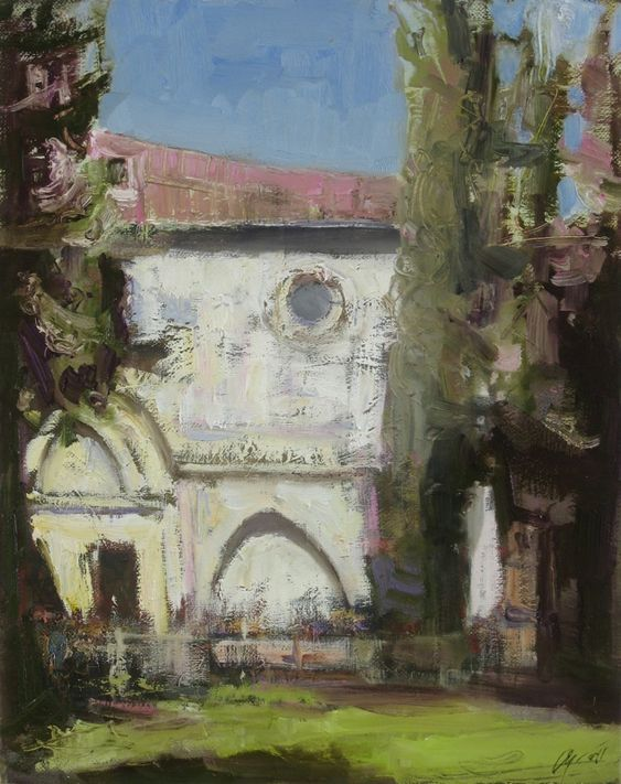 St.MARIA NOVELLA IN FLORENCE, ITALY Andrey Aranyshev (b 1956, Yaroslavl, Russia)