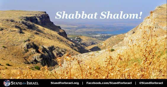 Shabbat Shalom Friends!