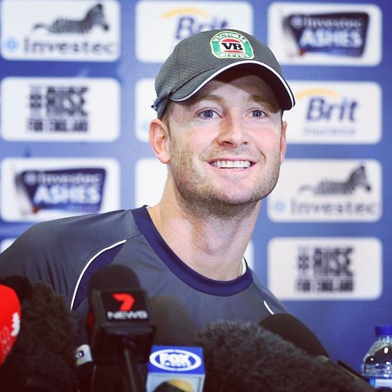 Australian skipper Michael Clarke was all smiles when he faced the press ahead of the second #Test at Lord's #Ashes #Cricket
