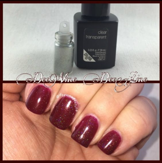 how to add spectraflair to sensationail gel