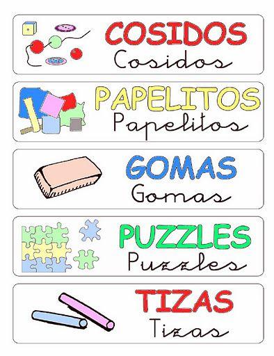 R tulos para ordenar el aula 3 organizacion pinterest for Cartel comedor infantil