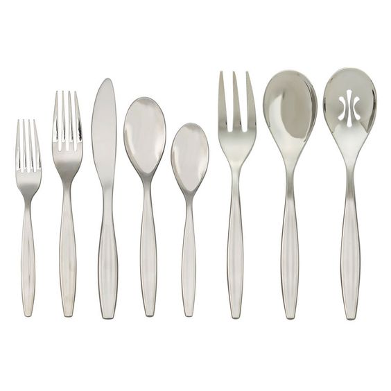 Offered for the first time in a set, our Grace Flatware is understatedly elegant - and a joy to eat with.
