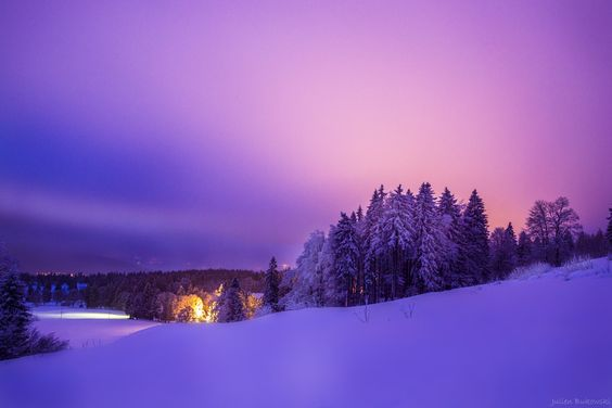 Snow paradise by Julien Bukowski on 500px