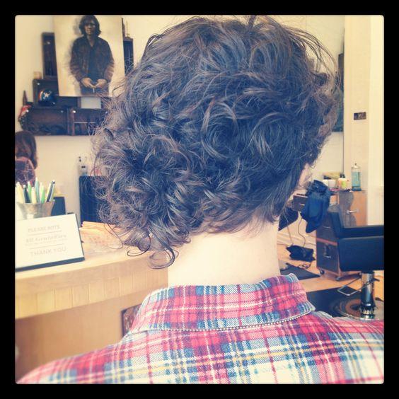 Best Haircut For Curly Hair In San Francisco : Asymmetrical curly haircut by amanda san francisco hair