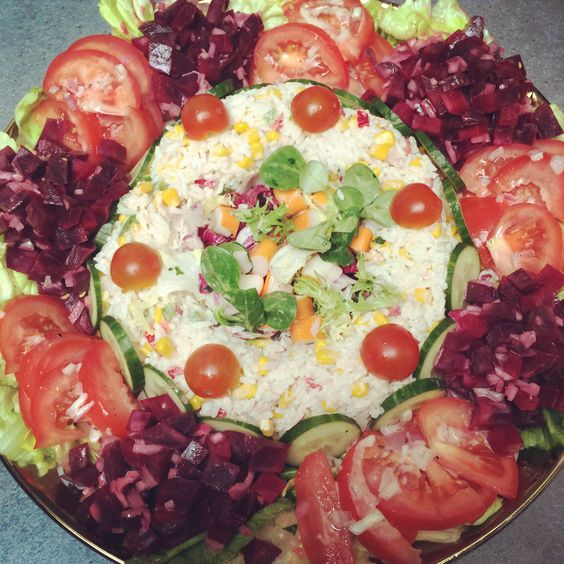Salade marocaine les d lices de myna pinterest - Quand repiquer les salades ...
